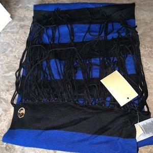 MK stripe scarf